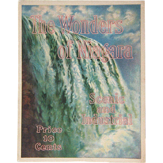 Booklet, The Wonders of Niagara, Scenic and Industrial, Shredded Wheat Co., 1914