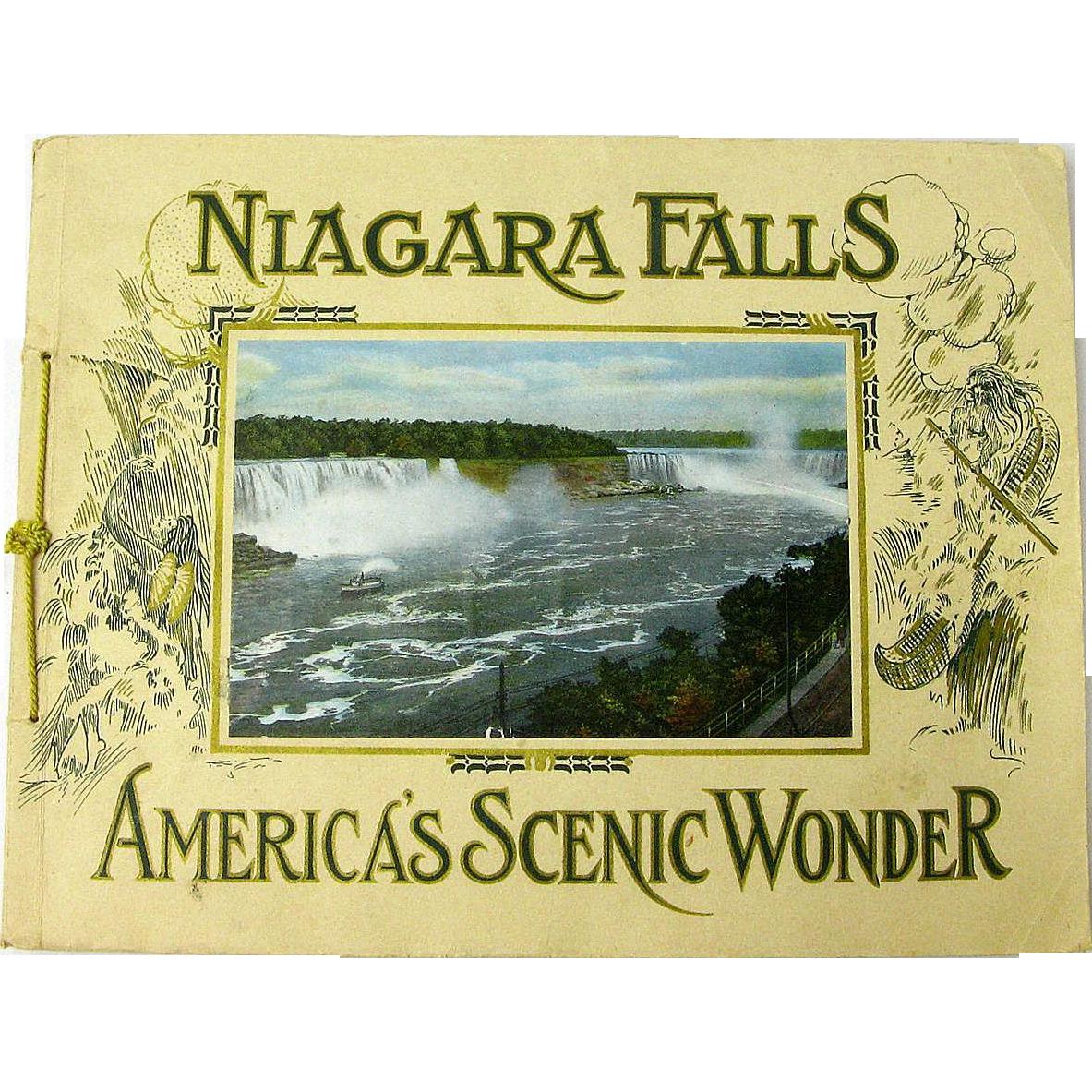 Niagara Falls, America's Scenic Wonder, Souvenir Booklet, Ca. 1910