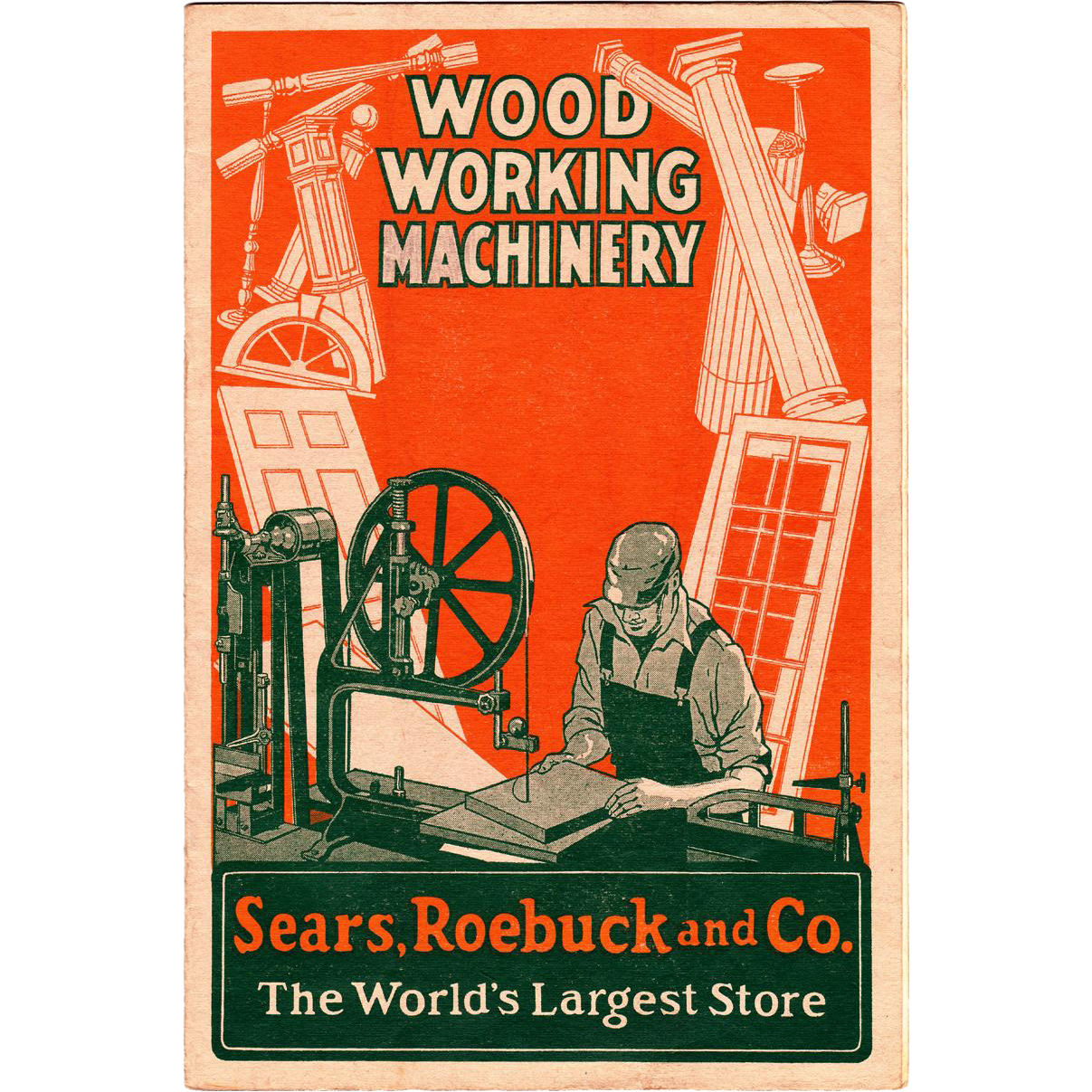 Sears Roebuck Wood Working Machinery Catalog 1928 From Sweetpeacottage On Ruby Lane