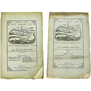 Two Issues Confederate Southern Historical Society Papers, April 1877, January 1879