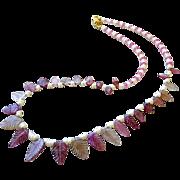 Tourmaline necklace, 14K Gold, Pink necklace, Topaz necklace, Camp Sundance, Gem Bliss