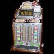 Great 5 cent Front OK vendor oak slot machine