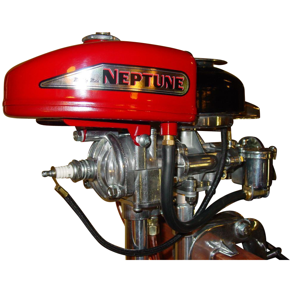 Small Restored Neptune Fishing Boat Motor From Rubylane Sold On Ruby Lane