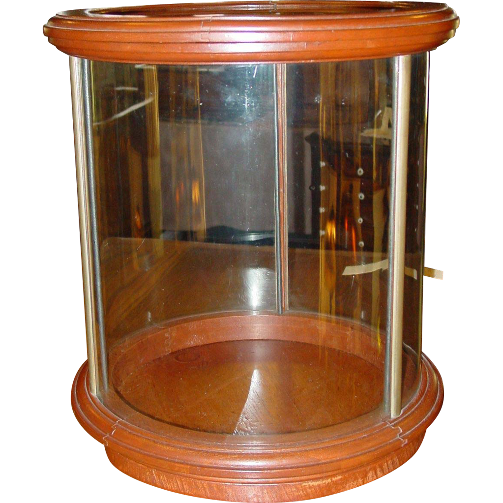 Table top display case - Unusual Round Table Top Counter Top Display Case