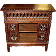 Late Victorian salesman sample cabinet