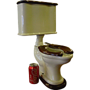 Unusual salesman sample Ariston commode toilet