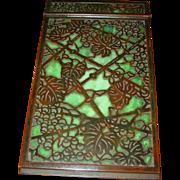Tiffany Studios grapevine desk note pad---excellent condition