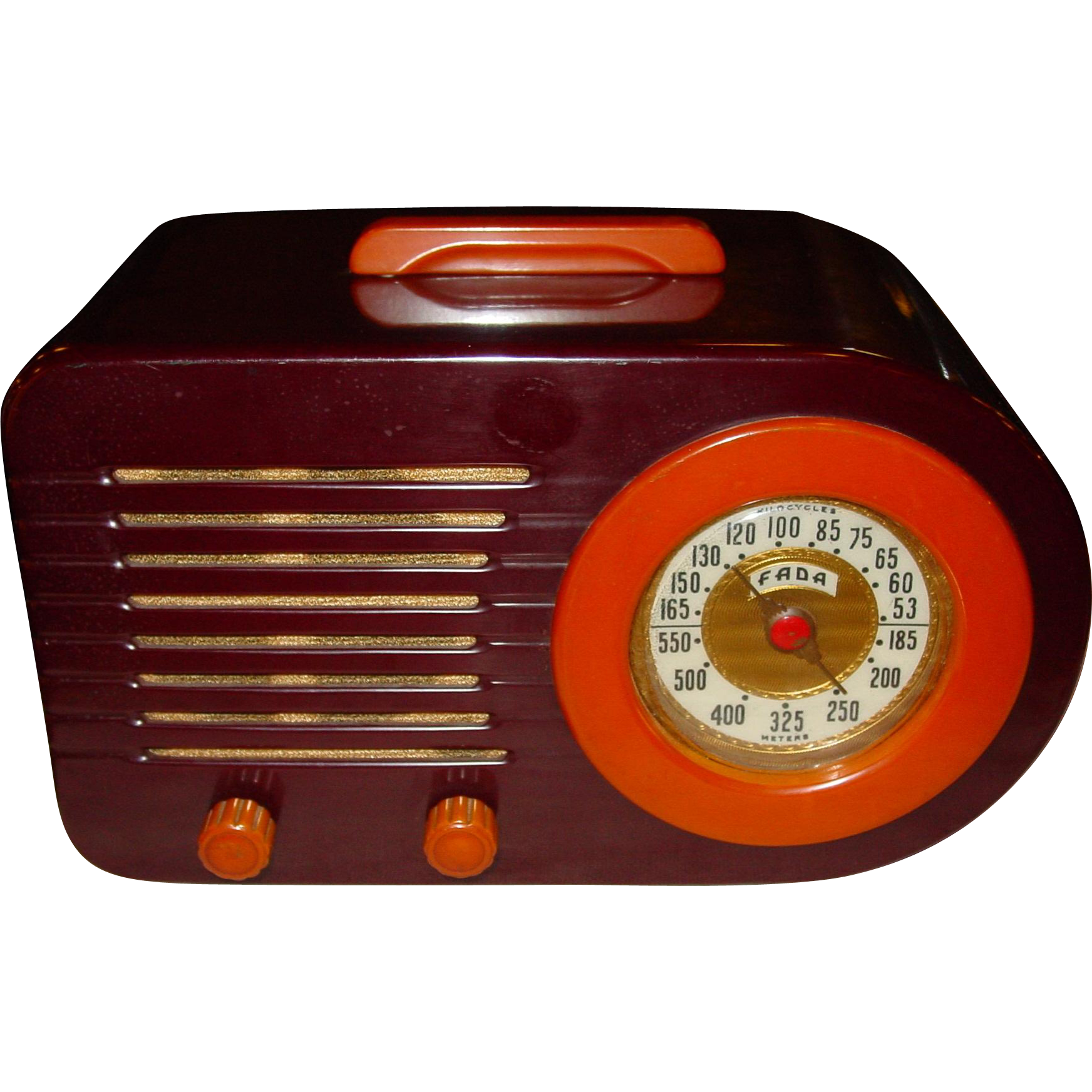 Collectable FADA Catalin bullet style 1940s radio