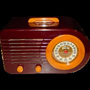 FADA catalin bullet style 1940s radio