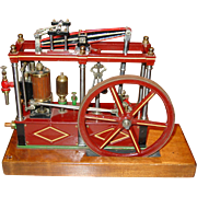 Very nice custom live steam beam engine