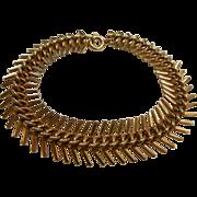 Vintage 12K GF Flexible Link Bracelet