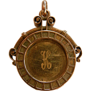 Vintage 8K Gold Locket Pendent