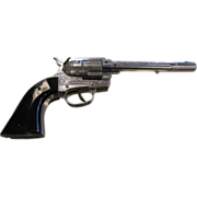 "Vintage Hubley ""Ric O Shay"" Colt 45 Cap Gun Children's Toy"