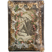 Antique Catholic Saint Reliquary Case