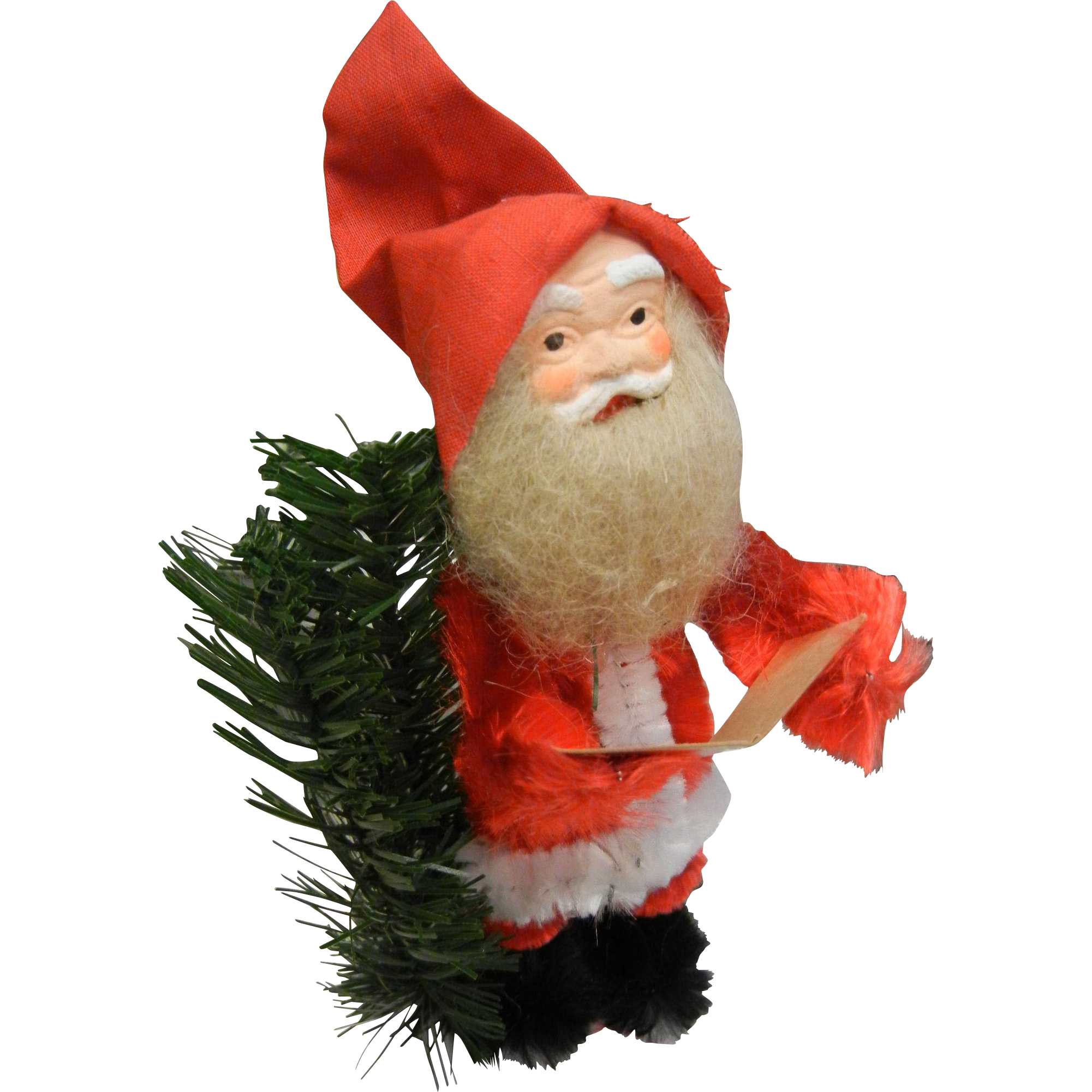 Vintage Santa Christmas Decoration