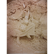 Vintage Original Fannie Van Duyn Photographs of Warm Springs Native American Girls