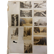 Vintage Original B&W Photograph Collection - Oregon Landmark  Travel Photos