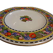 Wedgwood Plate w/ Fruit Decor 4763