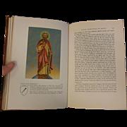 """Vintage 1954 Book: """"Lives of Saints"""""""