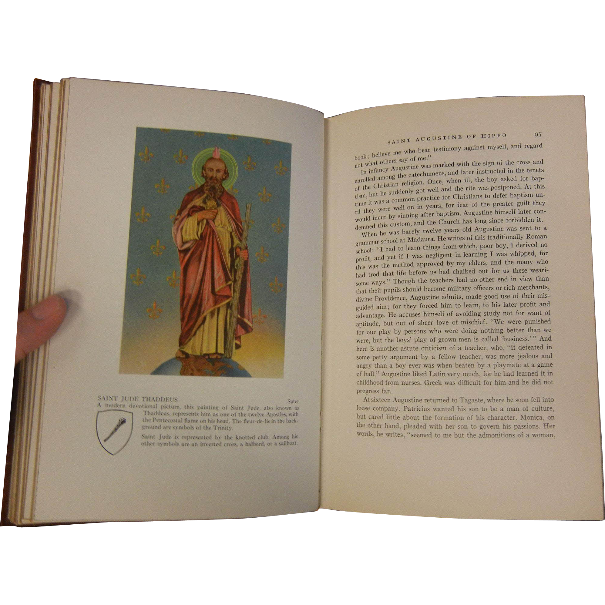 """Vintage 1954 Book: """"Lives of Saints"""" from sylviasstore on ..."""