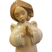 ADORABLE Lladro Porcelain Angel Figurine
