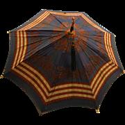 Antique Child's Size Folding Parasol