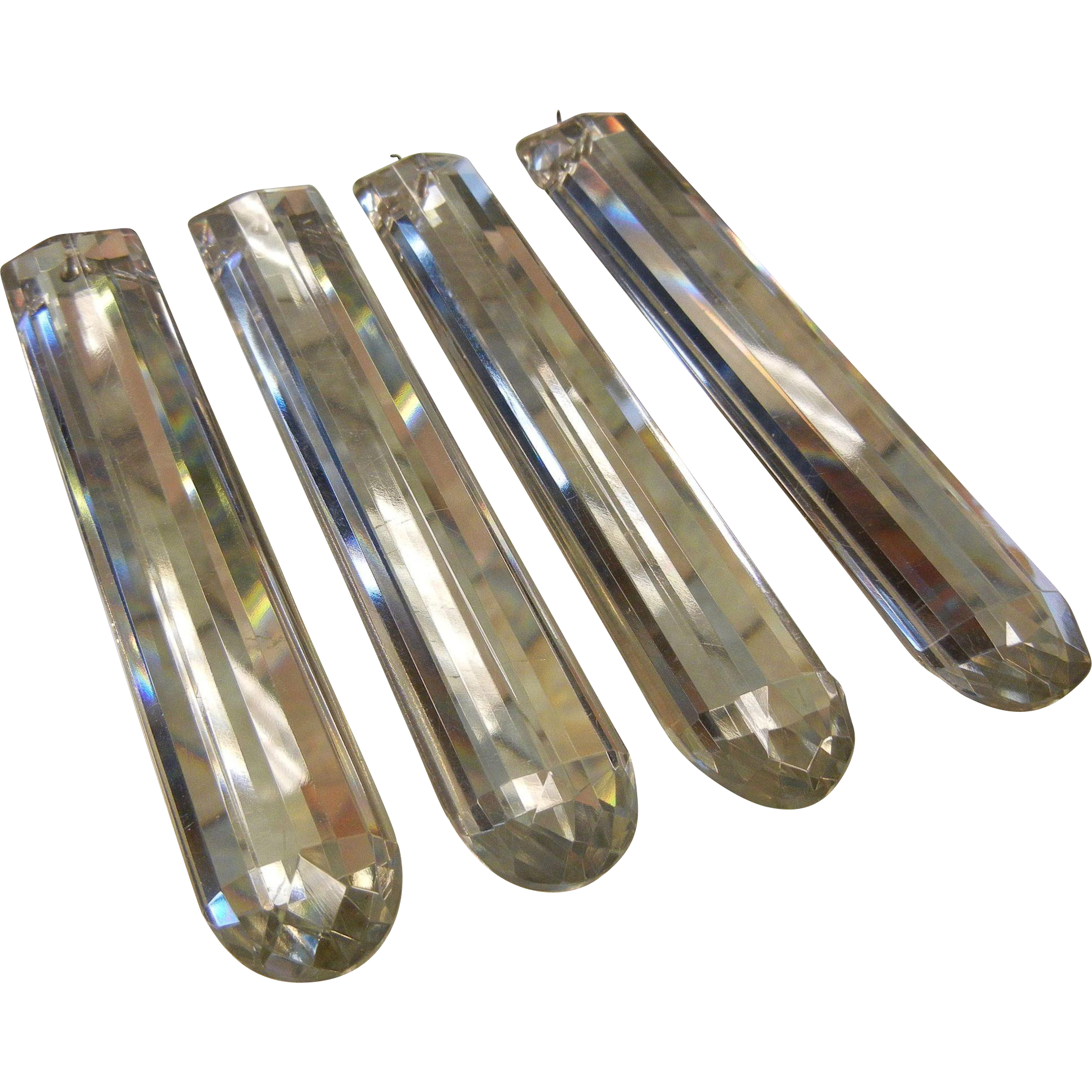 Vintage Chandelier Glass Prisms