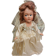 Vintage American Character Doll Tiny Betty Bride Doll