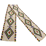 Vintage Hand Crafted Native American Bead Work
