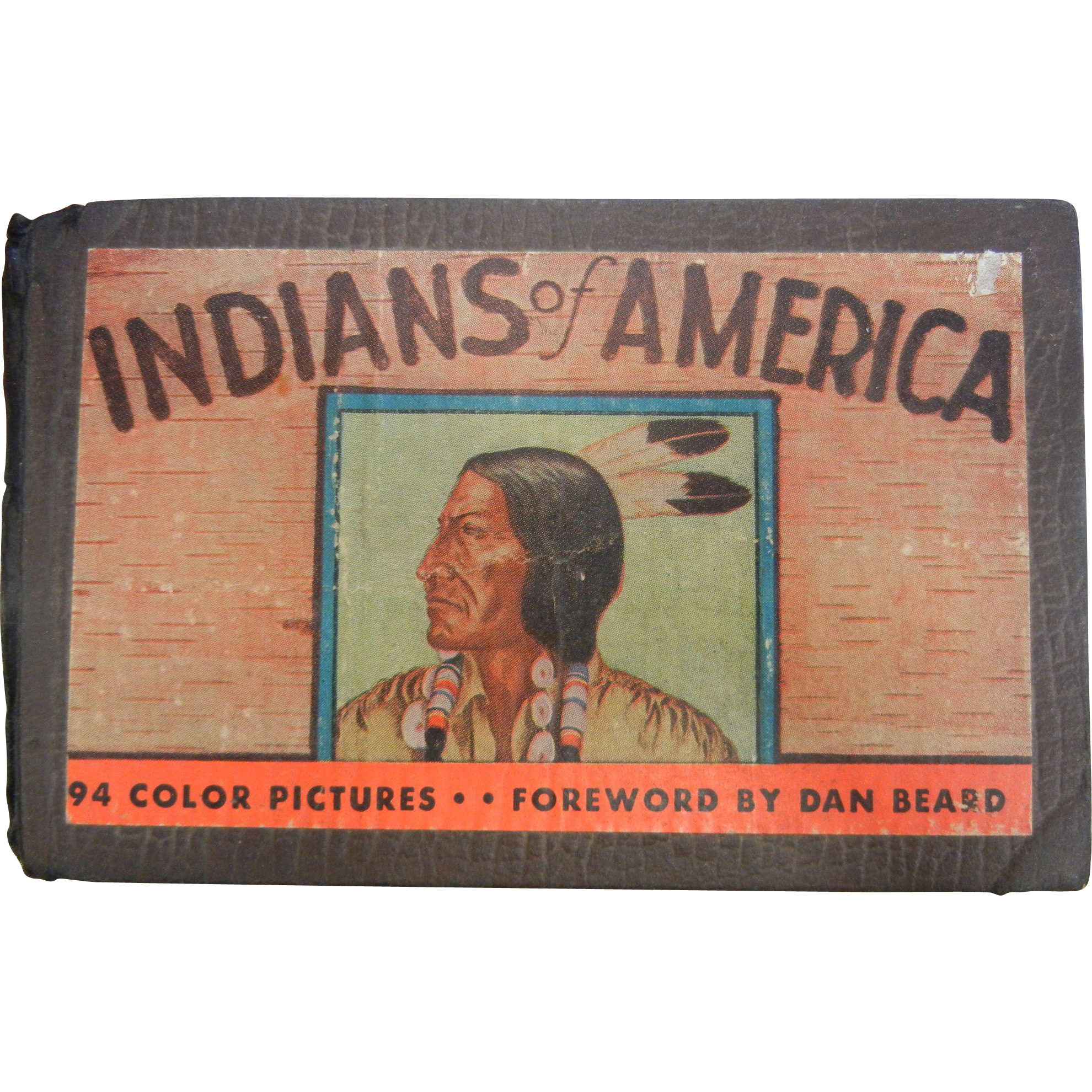 Vintage 1935 'Indians of American' Book - By Lillian Davids Fazzini