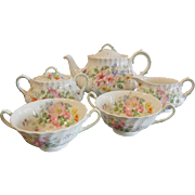 "Royal Doulton England Bone China Tea Set ""Arcadia"""