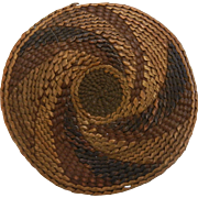 Handmade Vintage Native American Tlingit Basketry Mat