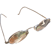 Vintage 10K White Gold Filled Eyeglasses