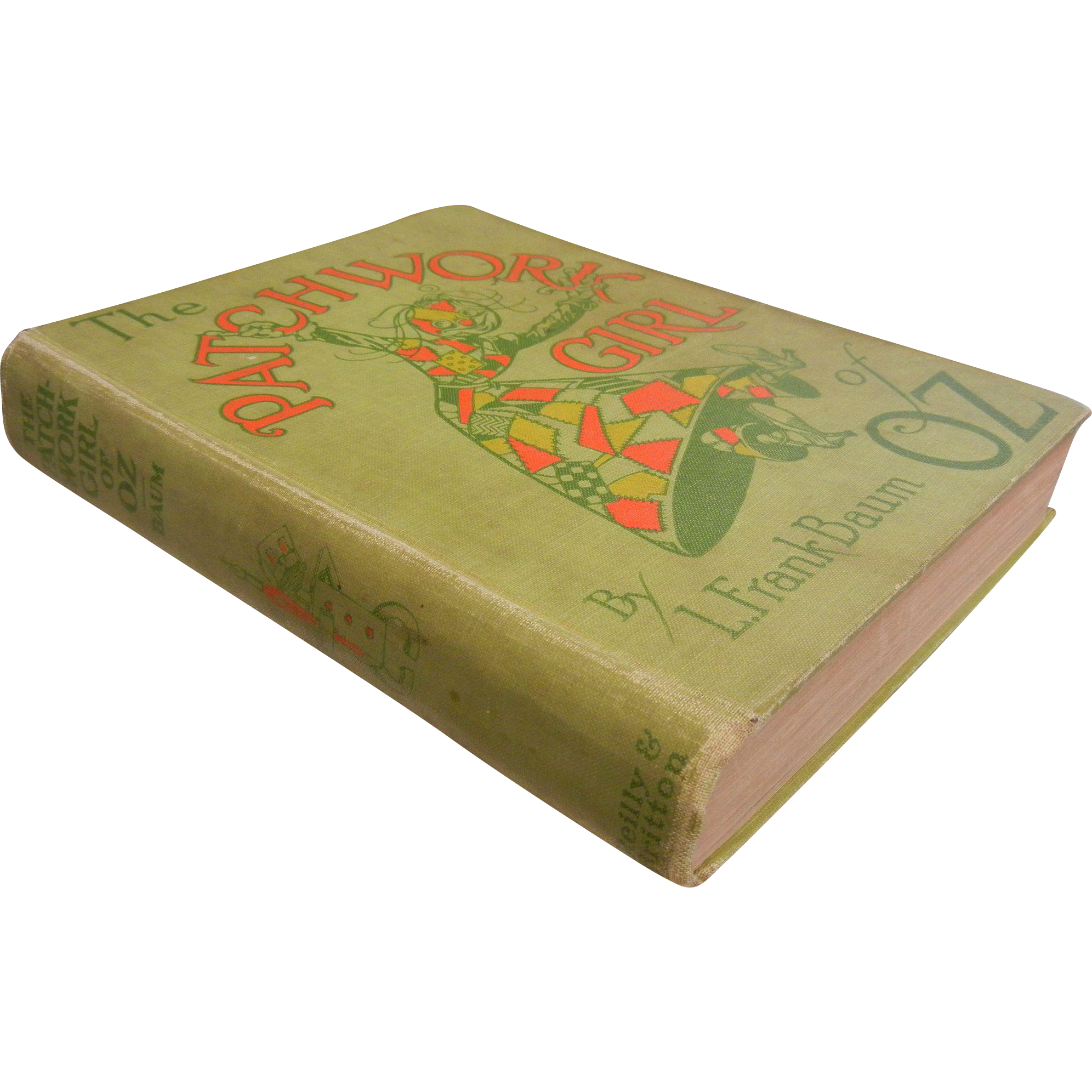 "First Edition 1913 Hardcover Copy of ""The Patchwork Girl of Oz"" by L. Frank Baum"
