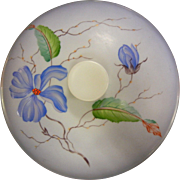 Vintage Rosenthal German Bowl w/ Lid - Hand Painted Flowers Artist Signed