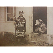 Original John McHenry Photo of Chief Shakes Brown Bear, Fort Wrangell, Alaska