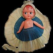 American  Vintage Plastic Carnival Doll