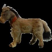 Vintage German Real Fur Animal - Donkey