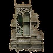 Antique German Metal 'Haus Apotheke' Apothecary Herb/Medicine Shelf
