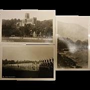 Set of 3 Vintage B&W Photo Postcards - West Point, NY
