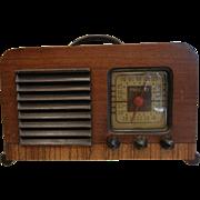 Vintage PHILCO Wooden Police Radio