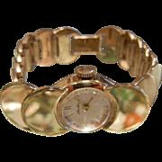 Vintage HAWTHORNE Gold-Tone Wrist Watch