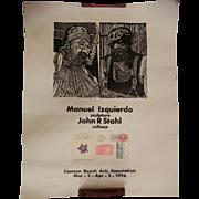 Vintage Manuel Izquierdo & John R. Stahl 1996 Poster Cannon Beach