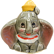 Vintage Disney DUMBO Elephant Porcelain Figurine Japan