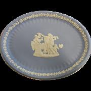 Vintage Wedgwood England Blue & White Porcelain Plate