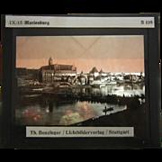 Vintage B&W Glass Plate Negative Photograph - Th. Benzinger / Lichtbilderverlag / Stuttgart