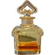 Vintage Guerlain Perfume in Baccarat Bottle Made in France