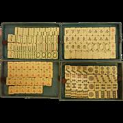 Vintage Old Bakelite Mah Jongg Set