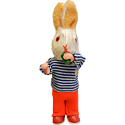 Vintage Original M9 West Germany Wind-Up Toy - Drinking Rabbit