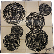 Vintage Schiaparelli Silk Kerchief